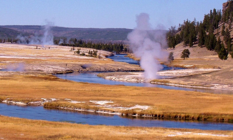 Lower Grand Loop Road In Yellowstone Alltrips