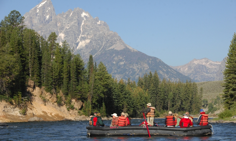 Scenic Float Trip Rafting Grand Teton National Park