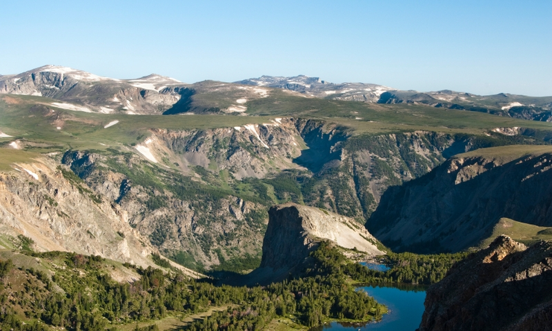 Yellowstone Mountains Beartooth Highway
