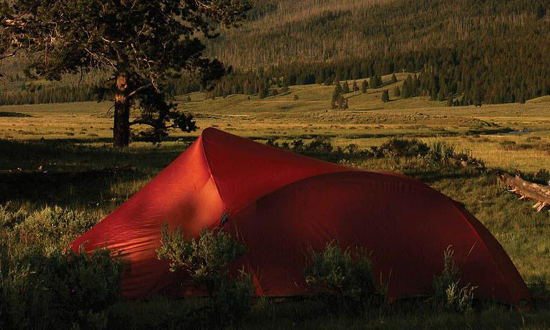 Yellowstone Backcountry Camping Alltrips