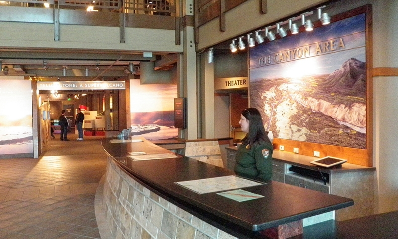 Canyon Village Visitor Center Yellowstone