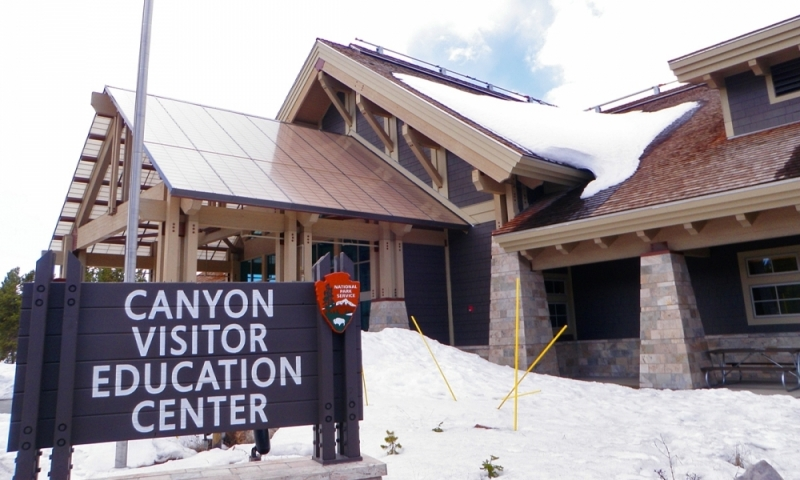 Yellowstone National Park Canyon Village Visitor Center