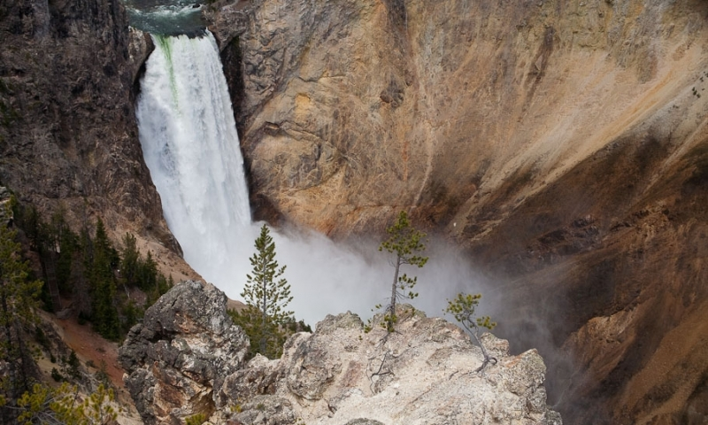 Yellowstone National Park Canyon Village