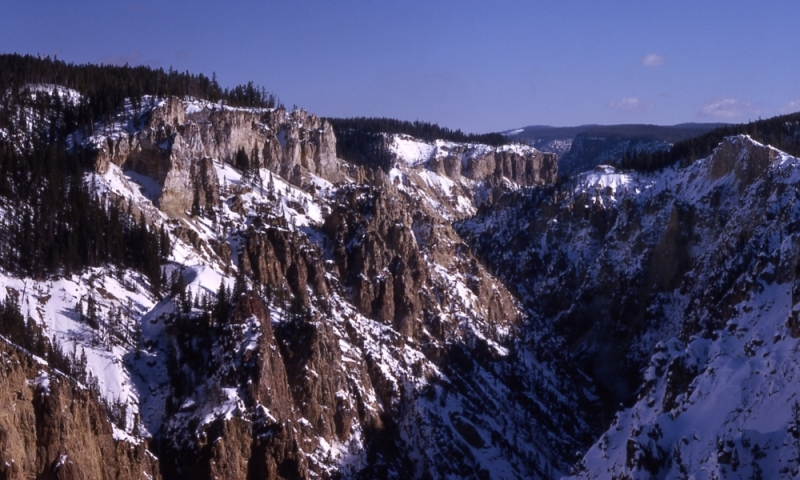 Grand Canyon Yellowstone Winter