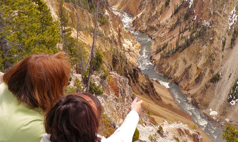 Grand Canyon Of Yellowstone National Park Alltrips