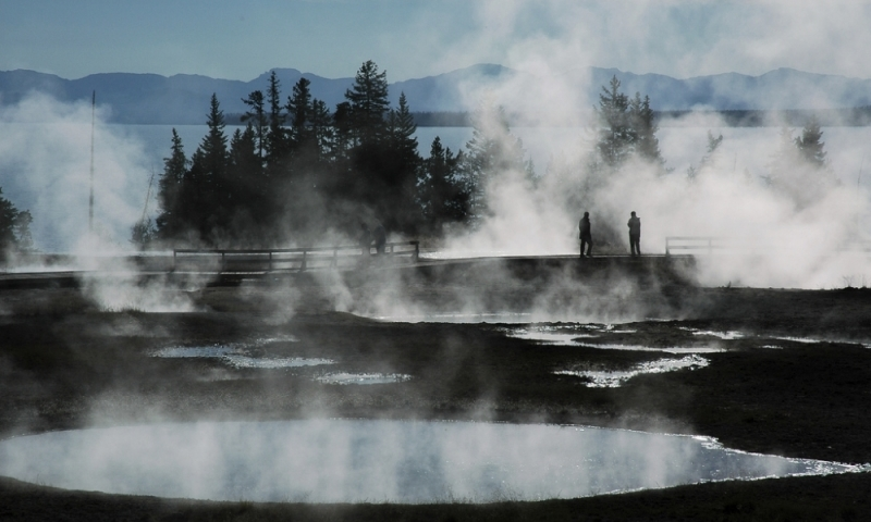 Yellowstone Geothermal Features