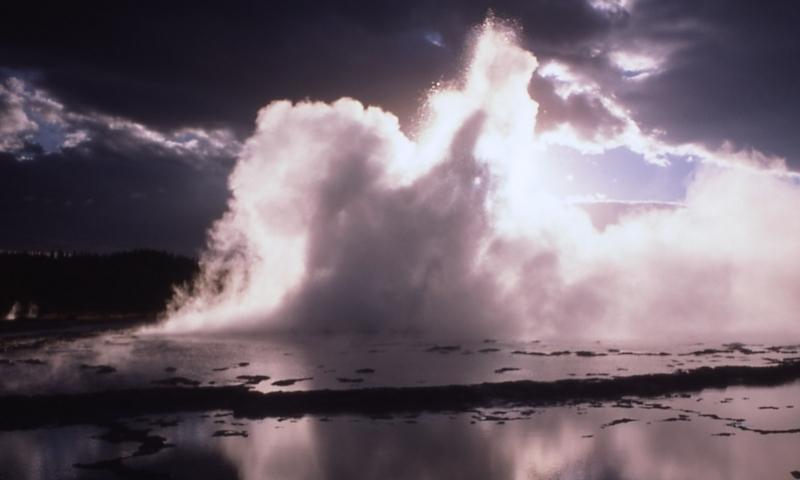 Yellowstone Geysers Great Fountain Geyser Alltrips