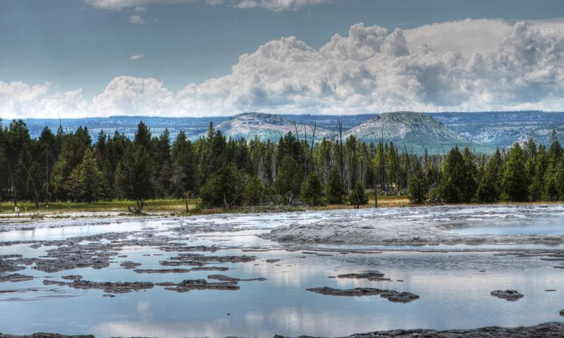 Yellowstone Geysers: Great Fountain Geyser - AllTrips