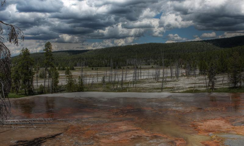 Great Fountain Geyser In Yellowstone National Park Alltrips
