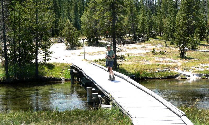 Trail to Lonestar Geyser