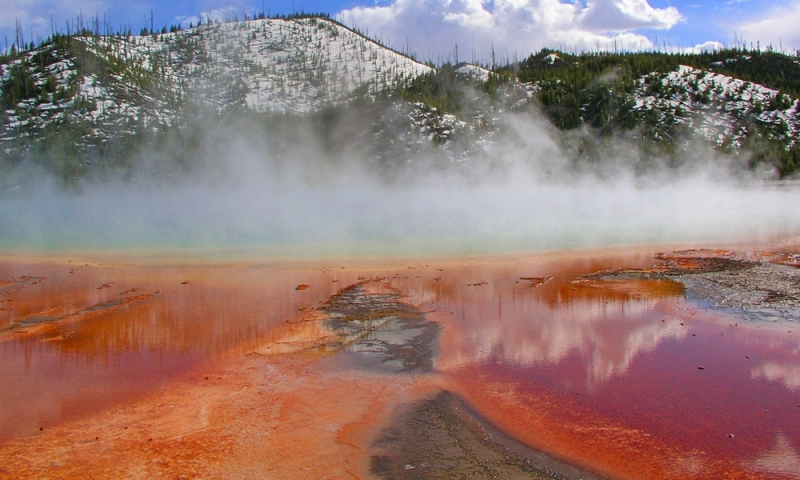 Midway Geyser Basin In Yellowstone National Park Alltrips