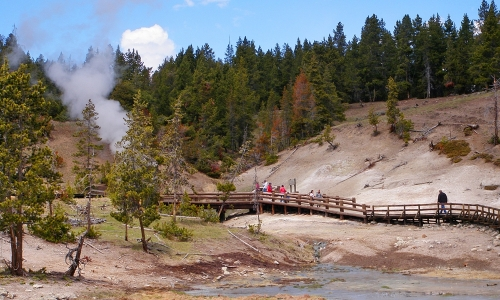 Yellowstone Dragons Mouth Spring