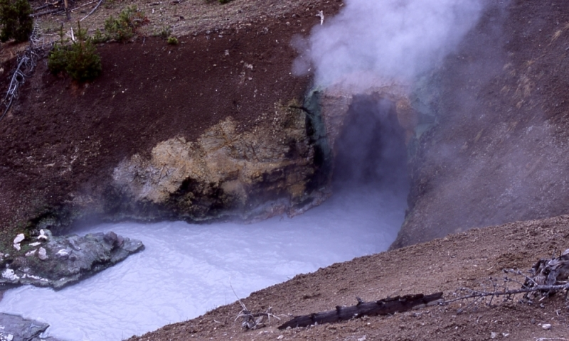 Mud Volcano In Yellowstone National Park Alltrips