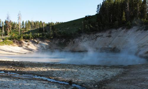 Mud Volcano in Yellowstone