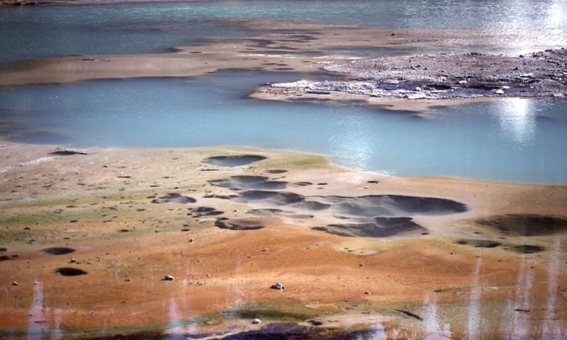 Norris Geyser Basin Yellowstone Hot Spring