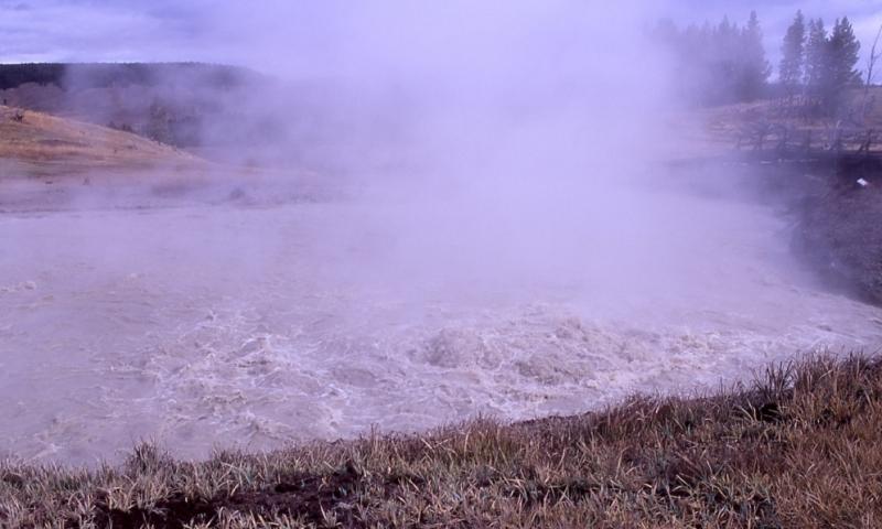 Sulphur Caldron Yellowstone