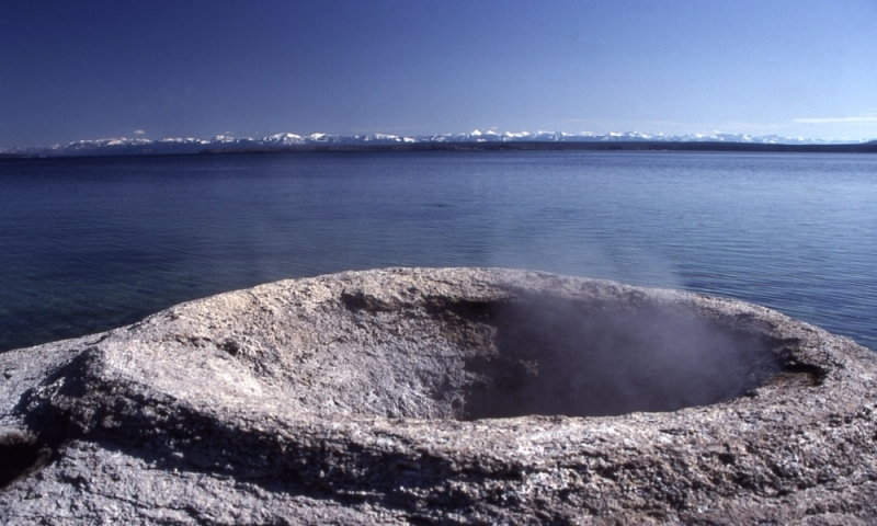 West Thumb Geyser Basin Yellowstone Fishing Cone