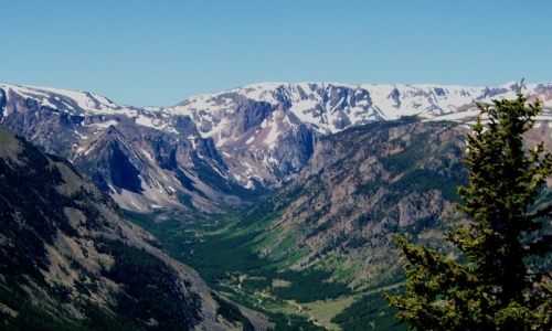 Beartooth Mountains Montana