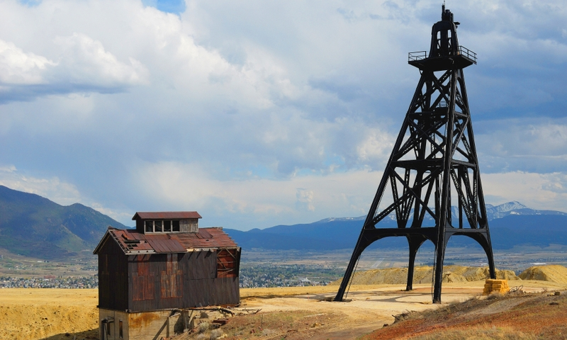 Butte Montana Gallows Mine