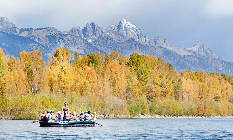 Scenic Rafting Trip along the Snake River