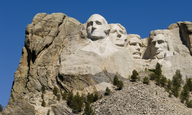 Mount Rushmore Memorial South Dakota