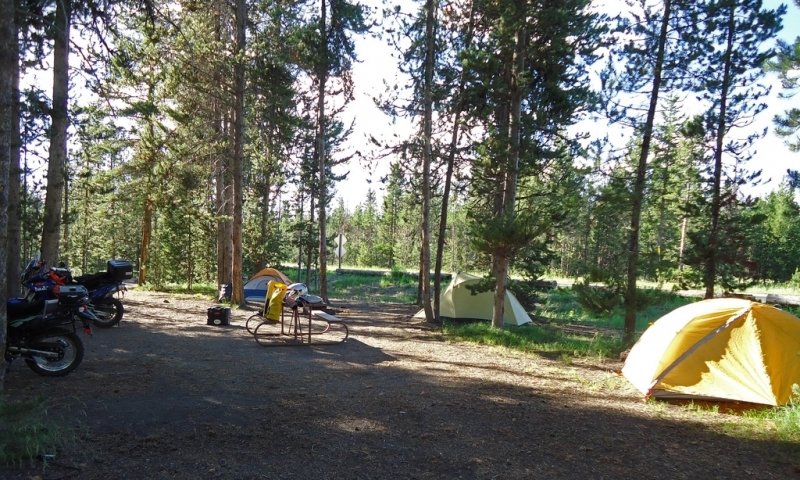 Flagg Ranch Campground