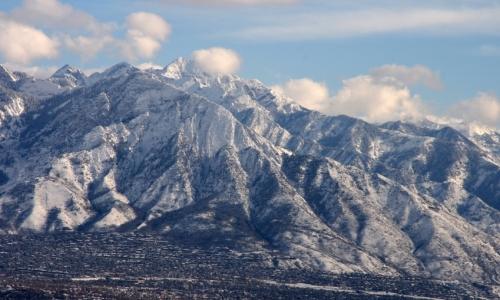 Salt Lake City Utah Winter
