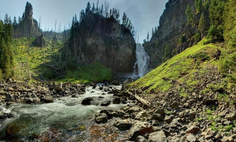 Yellowstone Trail Guide Osprey Falls
