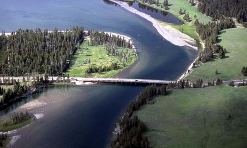Fishing Bridge In Yellowstone National Park Alltrips