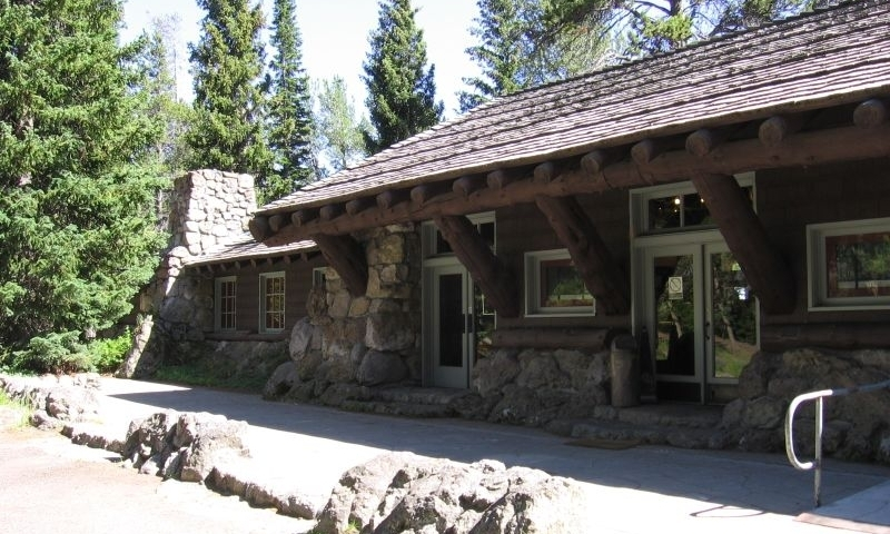 Fishing Bridge VIsitor Center in Yellowstone