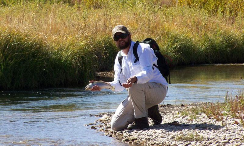 Fishing the Upper Gallatin River