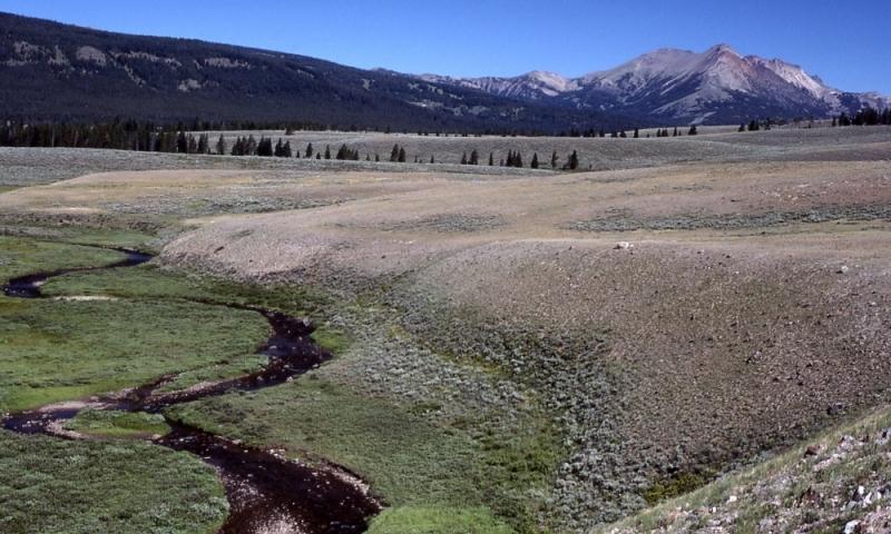 Gardner River Yellowstone National Park