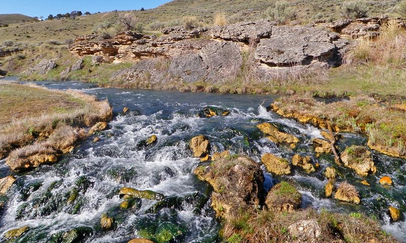 Boiling Springs Gardner River Yellowstone
