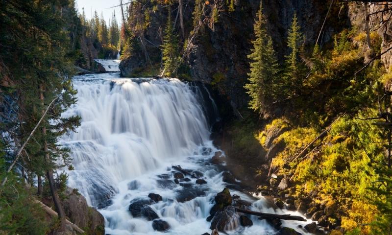 Kepler Cascades Yellowstone National Park Alltrips