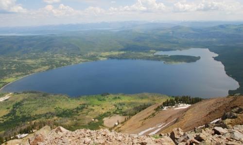 Yellowstone Lakes Heart Lake