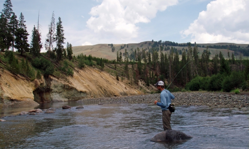 Lamar River Yellowstone Fishing