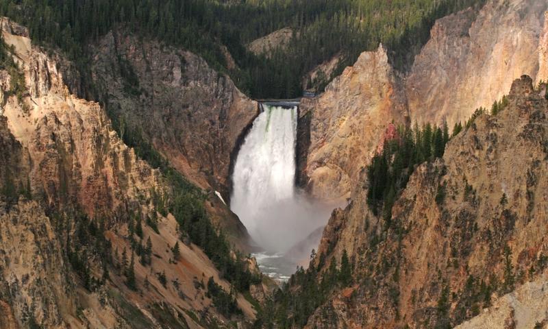 Grand Canyon Yellowstone Canyon Village