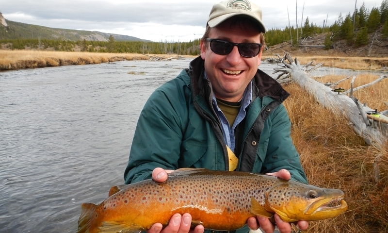 Fishing the Madison River in Yellowstone National Park