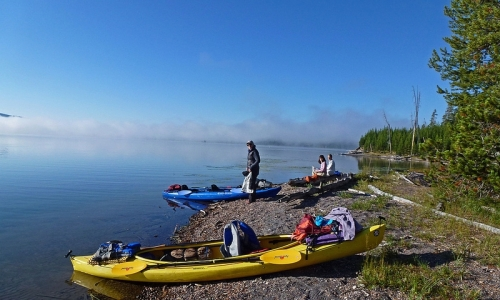 Shoshone Lake Kayaking