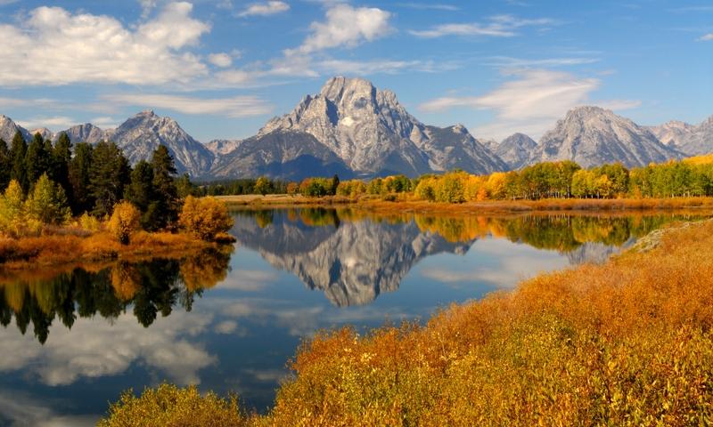 Snake River Oxbow Bend Grand Teton Jackson Wyoming