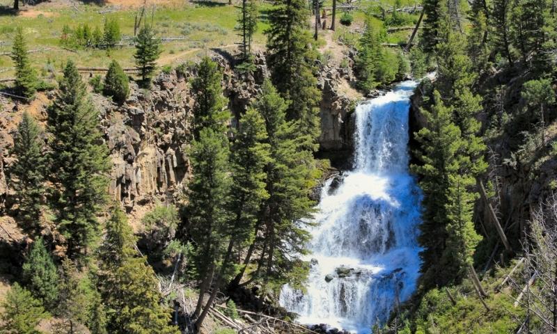 Undine Falls Yellowstone National Park Alltrips
