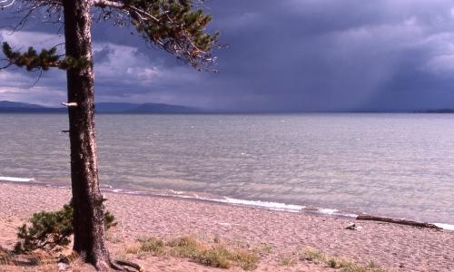 Wyoming Yellowstone Lake