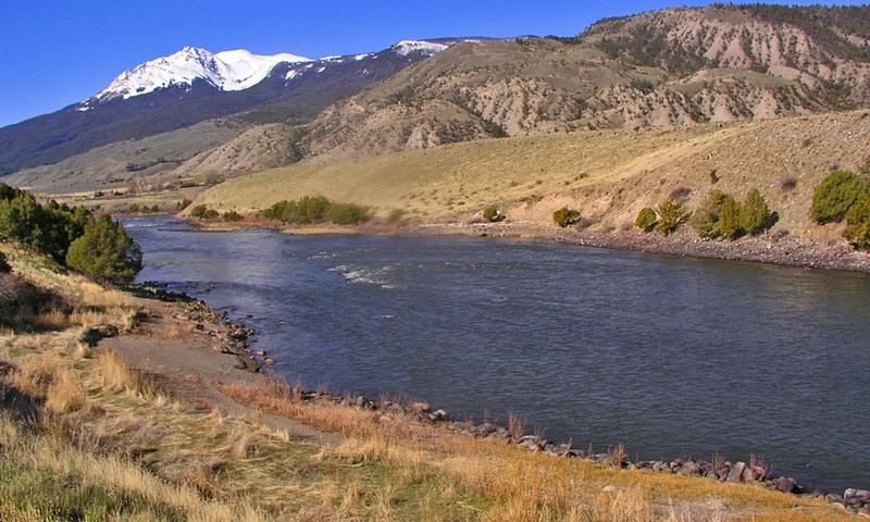 Yellowstone River Yellowstone Gardiner Montana