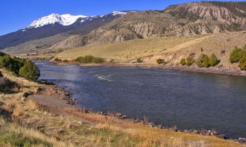 Yellowstone River Gardiner Montana