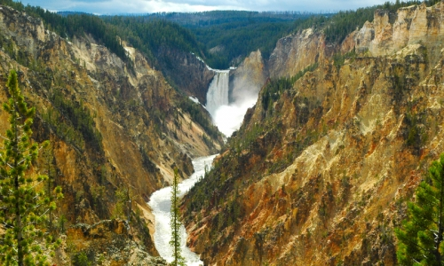 Yellowstone River National Park