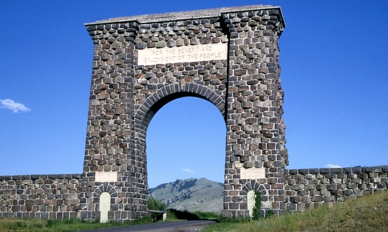 Yellowstone National Park North Entrance Alltrips