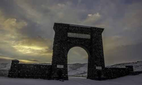 North Entrance to Yellowstone