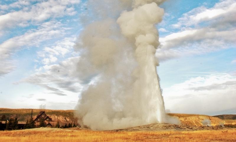 Old Faithful Geyser Yellowstone