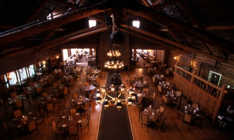 Old Faithful Inn Yellowstone Dining