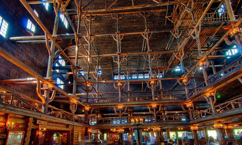 Old Faithful Inn Hotel Yellowstone National Park Alltrips